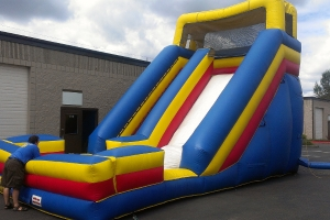30ft inflatable slide